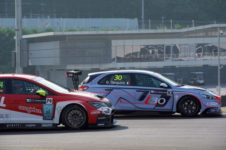 海外レース他 | TCRインター:仕事人タルキーニが本領発揮。ヒュンダイi30 N TCRデビューウイン