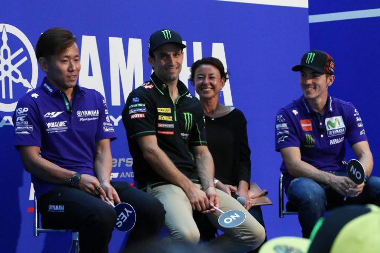 MotoGP | ビニャーレス、ザルコ、中須賀がもてぎを語る! ヤマハMotoGP日本GP直前イベントを開催