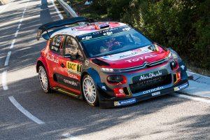 WRC第11戦スペイン クリス・ミーク(シトロエンC3 WRC)