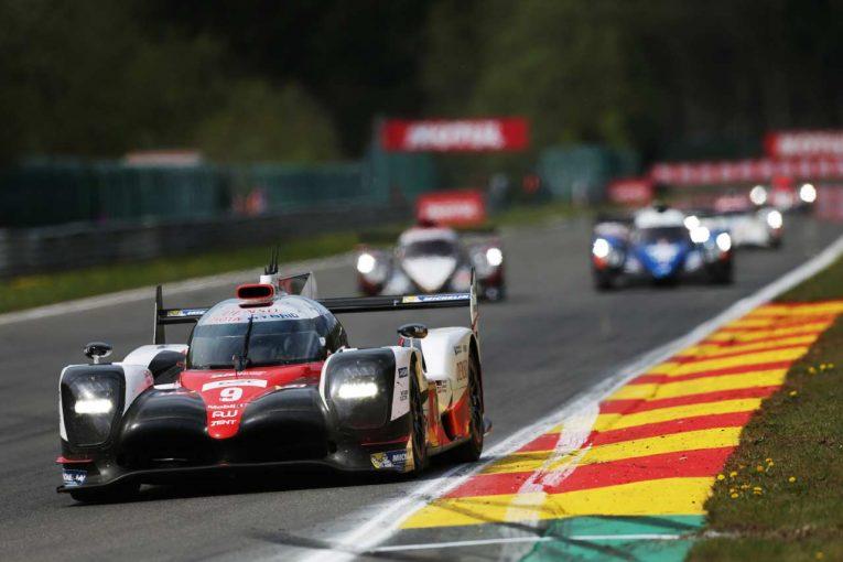 トヨタの3台目としてスパ、ル・マンに登場した9号車トヨタTS050ハイブリッド