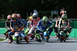 レースのスタートシーン