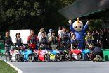 モトレーサータイムアタック選手権で選抜された子供たち