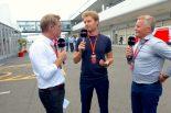 F1 | 【あなたは何しに?】F1日本GPを訪れたロズベルグ。パスに書かれていたのは名前ではなく…