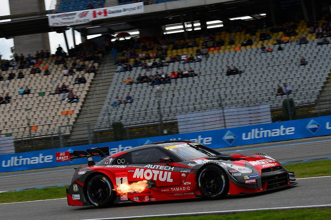 GT500がドイツを走った! フリープラクティスでの走行にドイツのファンから拍手