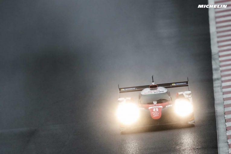 FP3で最速タイムをマークした8号車トヨタTS050ハイブリッド