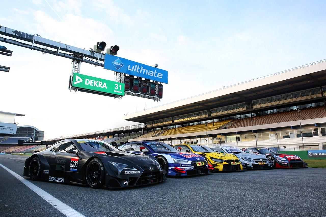 『クラス1』の5車の競演が実現! GT500マシンはファンからも大注目