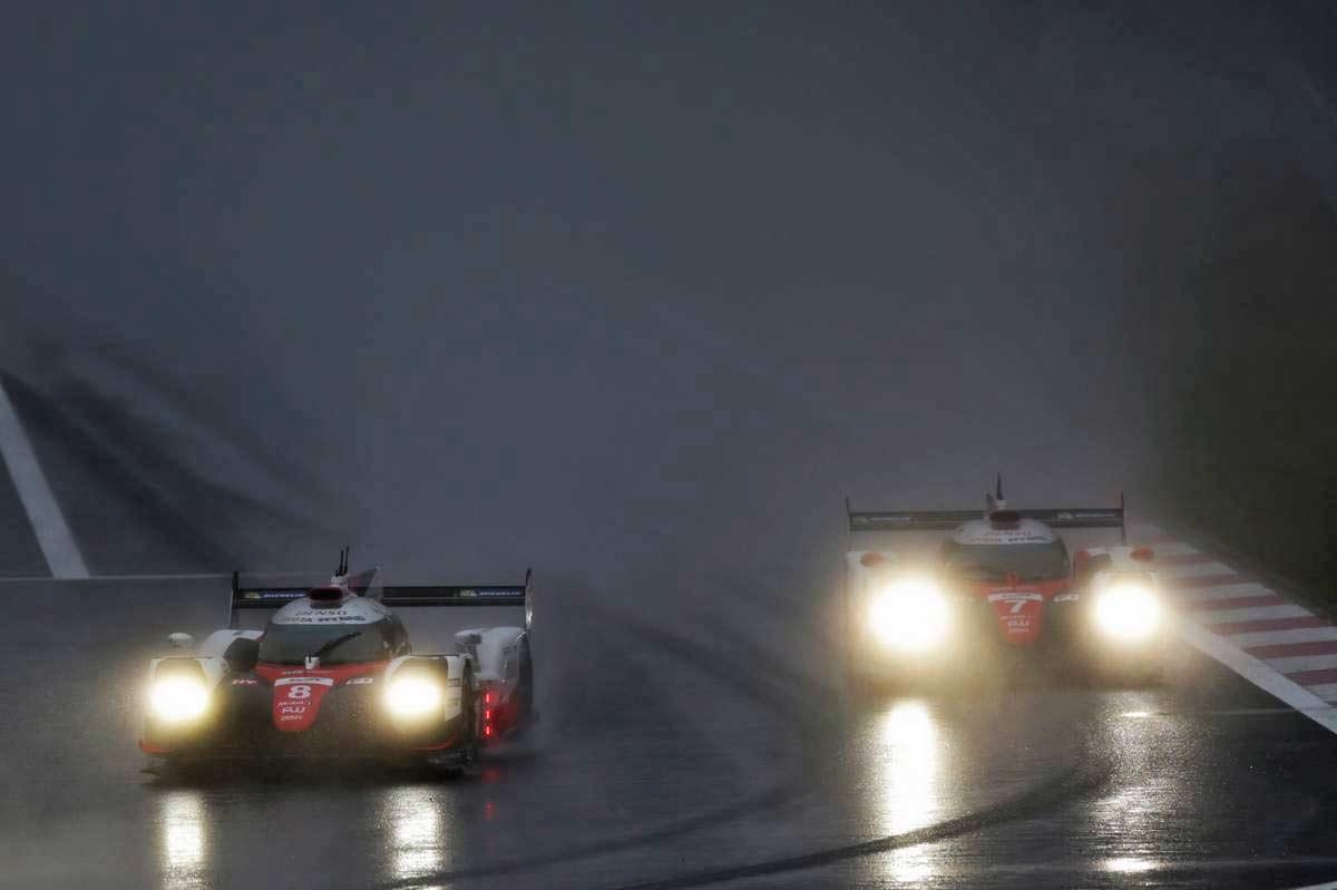 トヨタが悪天候の母国レースでワン・ツー達成/【順位結果】WEC第7戦富士 決勝