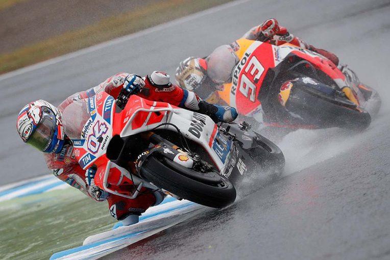MotoGP | MotoGP日本GP決勝:最終コーナーまで続いたし烈なバトル。0.2秒差でドビジオーゾがもてぎを制す