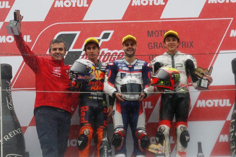 MotoGP | MotoGP日本GP Moto3決勝:ホンダのフェナティが優勝。鈴木竜生は表彰台に一歩届かず