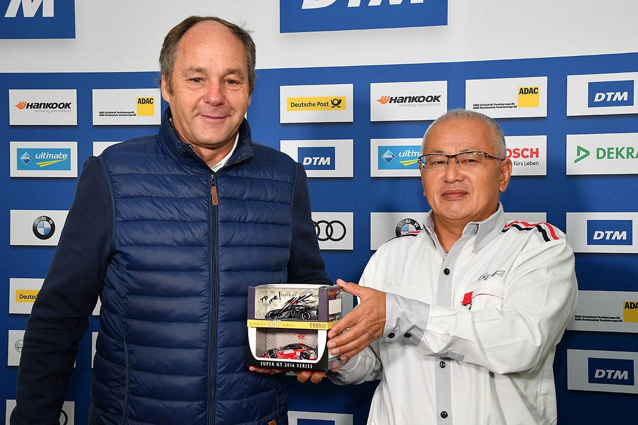GTA坂東代表とITRベルガー代表が共同記者会見。「このデモランがコラボを深化」