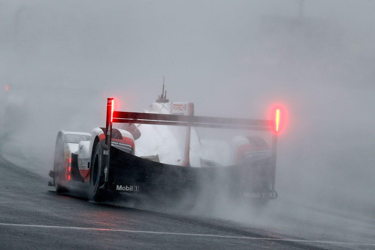 WEC:雨やSC等に翻弄されたポルシェ勢。「最初の赤旗が出る前、賭けに出ていた」