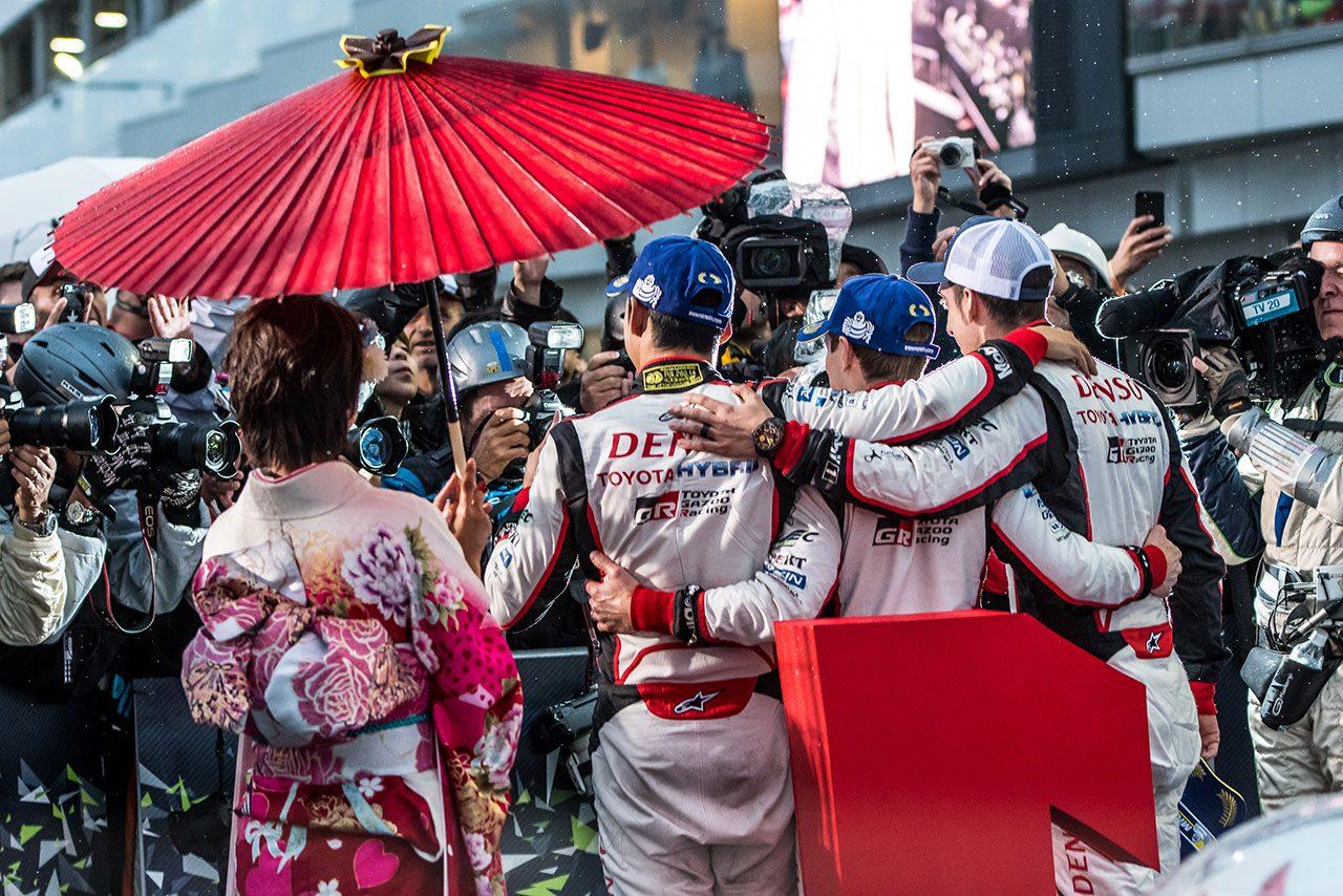 """WEC:""""ホーム""""富士での勝利に豊田章男社長がコメント。「最後まで、全力のレースを」"""