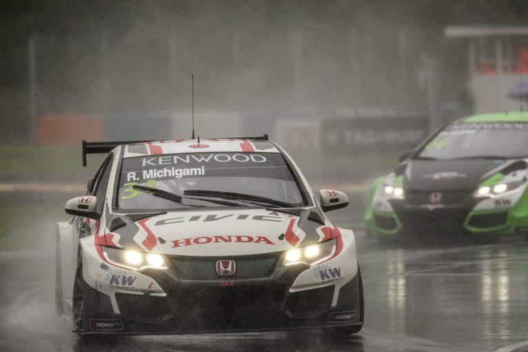 海外レース他 | WTCC:道上がオープニングレースで自己最高9位を獲得、日本ラウンドに向け弾み。メインレースは荒天により不成立に