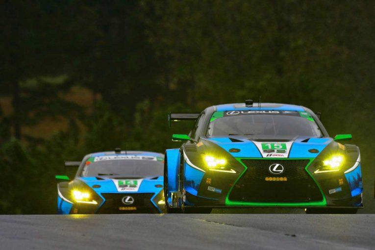 ル・マン/WEC | IMSA:レクサス、最終戦は15号車RC Fが8位入賞。14号車は表彰台圏内走るも終盤クラッシュ