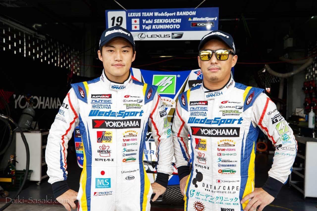 スーパーGT:関口雄飛 2017年第7戦タイ レースポレート