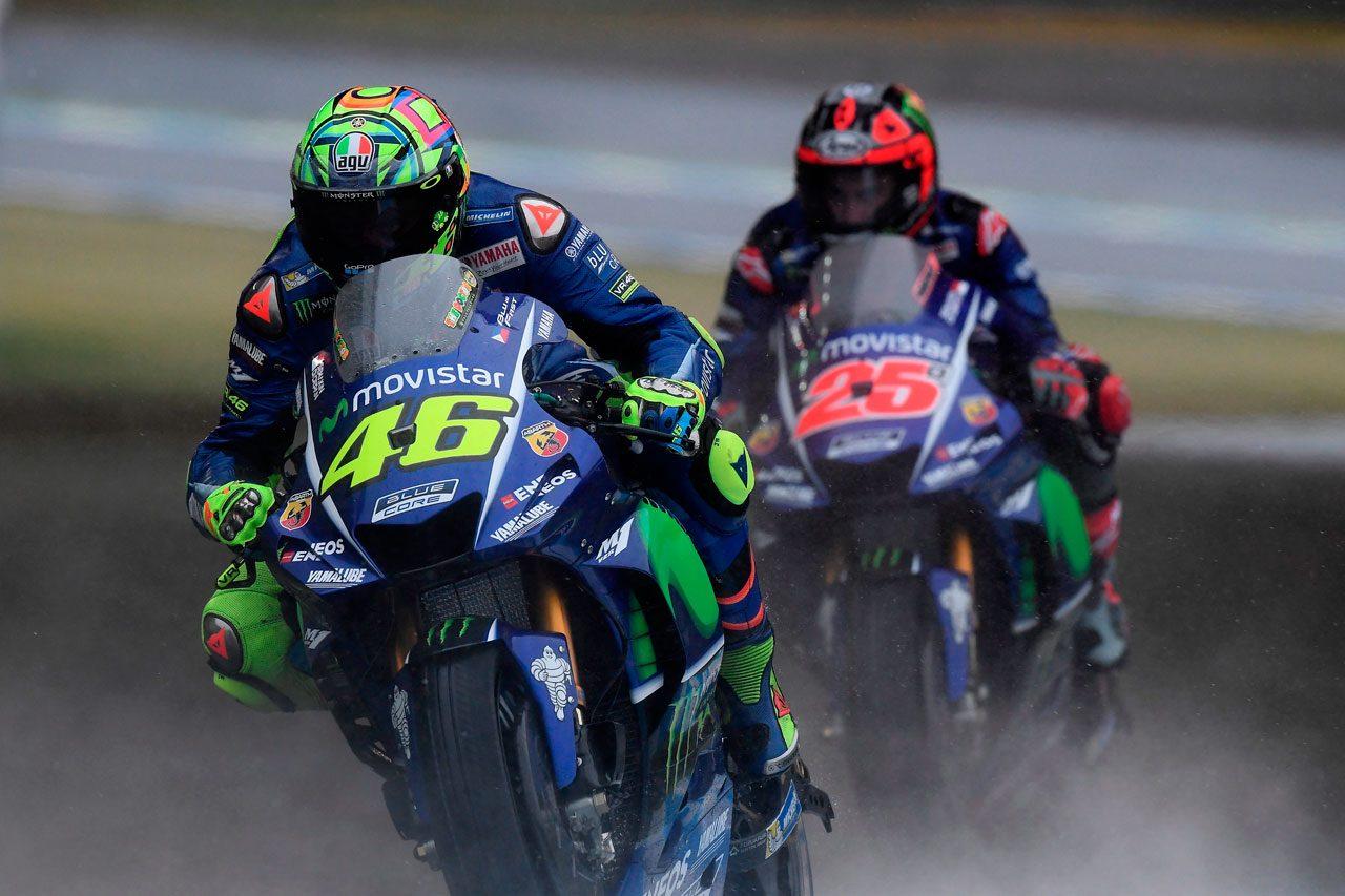 MotoGP:日本GPで転倒したロッシ。オーストラリアでは「天気がいいことを願っているよ」