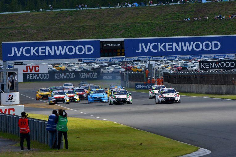 海外レース他   WTCCもてぎの変更版タイムスケジュール発表。予選・決勝は10月29日に開催へ