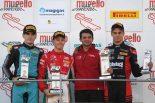 レース2を制したマーカス・アームストロング