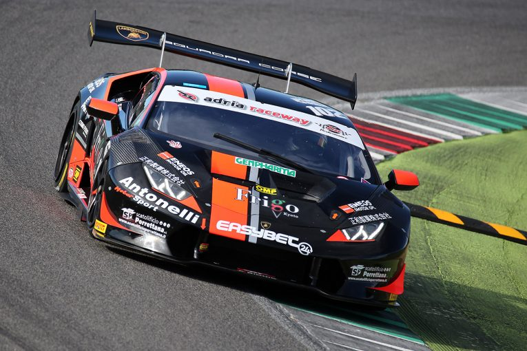 ル・マン/WEC | 笠井崇志の2017年イタリアGT最終戦は苦い結果に。ランキング8位でシーズン終える