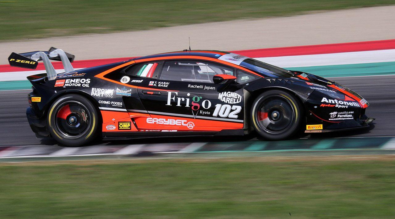笠井崇志の2017年イタリアGT最終戦は苦い結果に。ランキング8位でシーズン終える