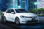 クルマ | フォルクスワーゲン、新型EV『e-Golf』、PHV『Golf GTE』発表。TMSで日本初公開