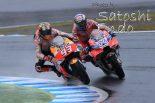 モタスポブログ | MotoGP現地トピックス:今季最高の名勝負を繰り広げたドビジオーゾとマルケス。日本GP用ヘルメットも登場