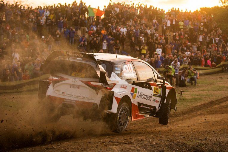 WRC:トヨタ、2017年最後の欧州...