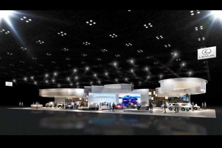 クルマ   レクサス、東京モーターショーに新ブースデザインを導入。公式Facebookでのライブ配信も