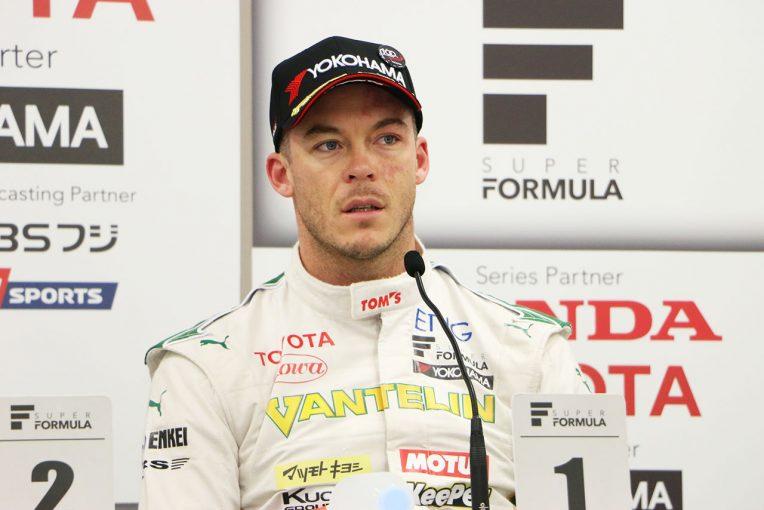 スーパーフォーミュラ | スーパーフォーミュラ:ロッテラー、2レースともにポールを獲得できる「確信があった」/予選トップ3会見