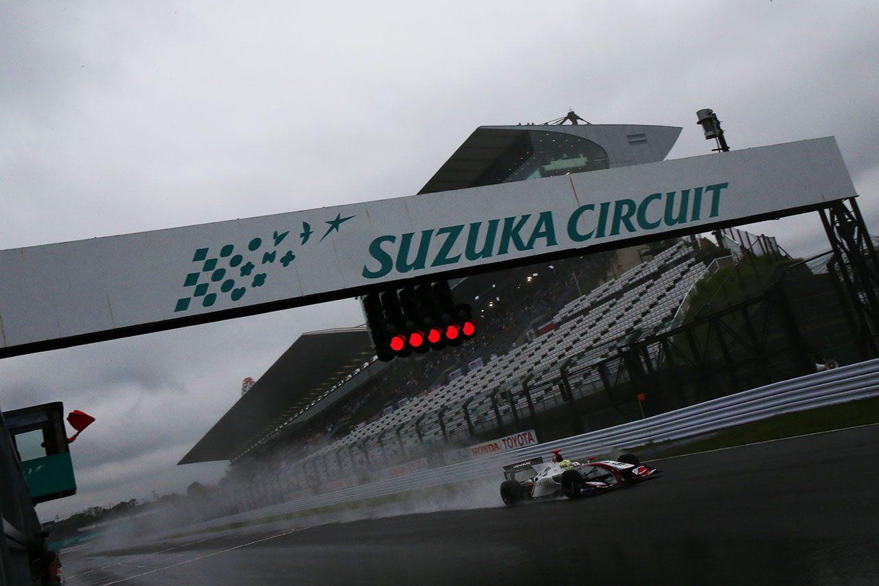 【速報】スーパーフォーミュラ最終戦、決勝レースが開催中止。台風21号接近のため