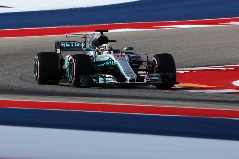 F1 | ハミルトンがトップタイム【タイム結果】F1アメリカGP フリー走行3回目
