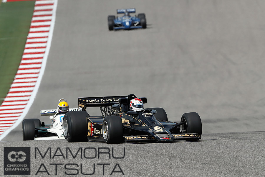 モタスポブログ | Shots!──ヒストリックレースでは日本人が大活躍!@熱田カメラマン F1アメリカGP 土曜