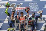 MotoGP | MotoGP:マルケス「トップに立つタイミングを待っていた」/オーストラリアGP決勝トップ3コメント