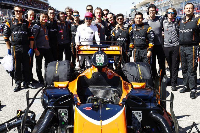F1 | アロンソ「何ひとつ報われなかった週末。クルーのためにも残り3戦でいい結果を」マクラーレン・ホンダF1