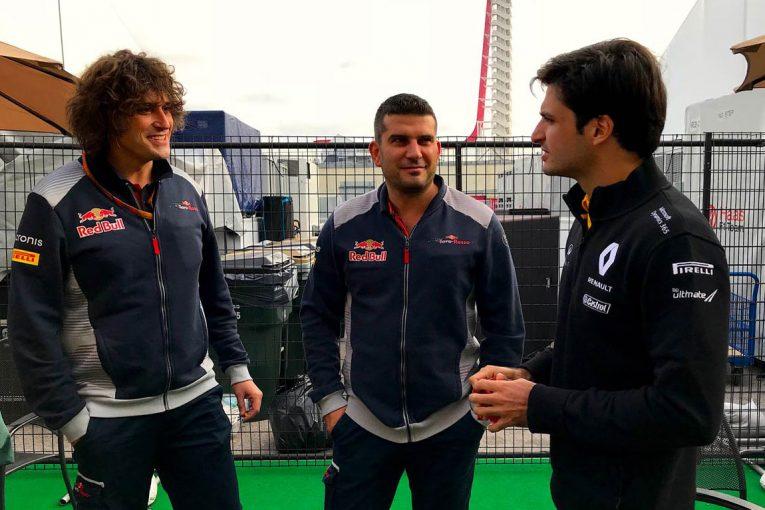 F1 | 【あなたは何しに?】F1アメリカGPのパドックは開放的。サインツは古巣にご挨拶