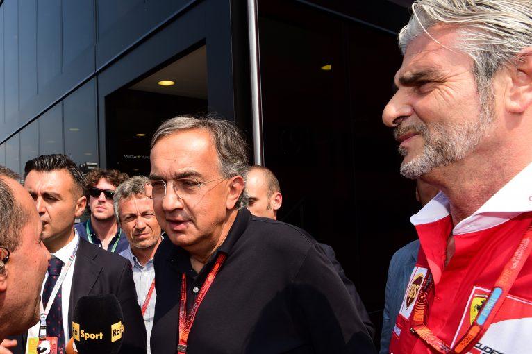 F1   マルキオンネ会長、フェラーリF1代表解任の噂を否定。「彼ひとりの責任ではない」