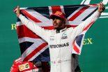 F1 | ハミルトン優勝「スタートで抜かれても焦りはなかった。抜き返す過程を楽しんだよ」メルセデスF1アメリカGP