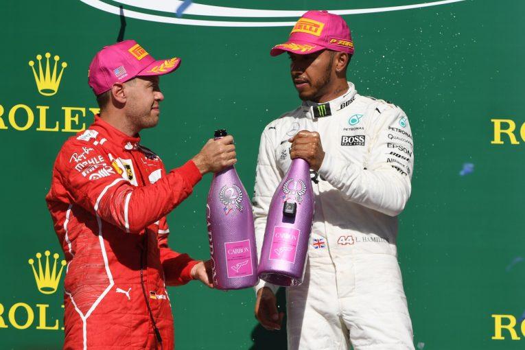 F1   ベッテル「首位を維持できず悔しいが、ハミルトンは速すぎて勝負にならなかった」フェラーリF1