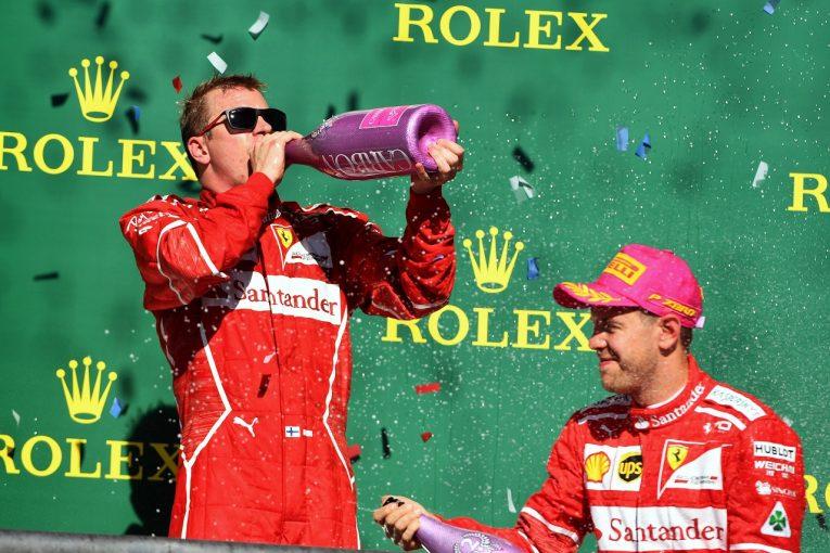 F1   ライコネン「フェルスタッペンの件は見てないからコメントできない。ただ突然抜かれて驚いた」フェラーリF1