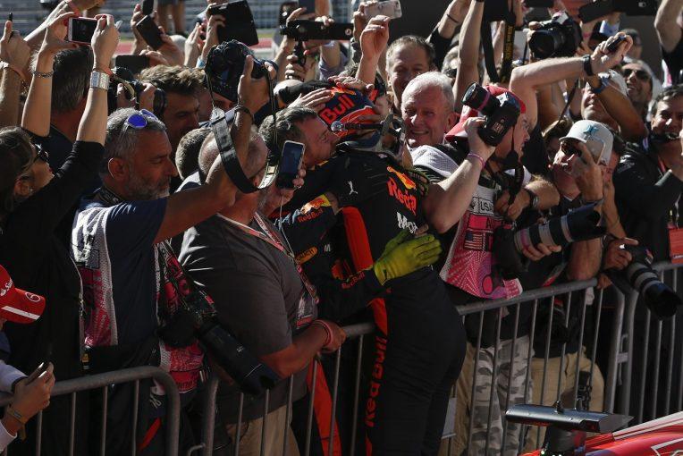 F1 | フェルスタッペン、ペナルティに納得せず「話も聞かずに表彰台を取り上げるなんて」:レッドブル F1