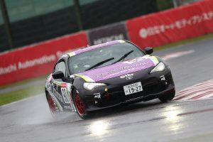 プロフェッショナルシリーズで今季初予選ポールを獲得した阪口良平(大阪トヨタ86レーシングBS)