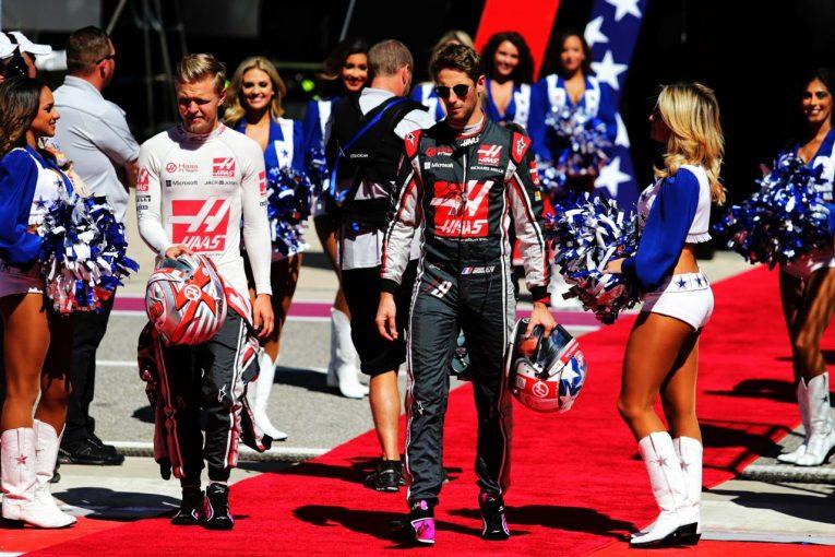 F1   グロージャン「ホームレースでいいところを見せられず落胆している」:ハース アメリカGP日曜