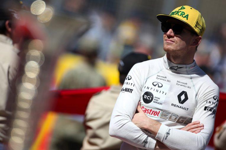 F1   ヒュルケンベルグ「油圧のトラブルでリタイアするしかなかった」:ルノー アメリカGP日曜