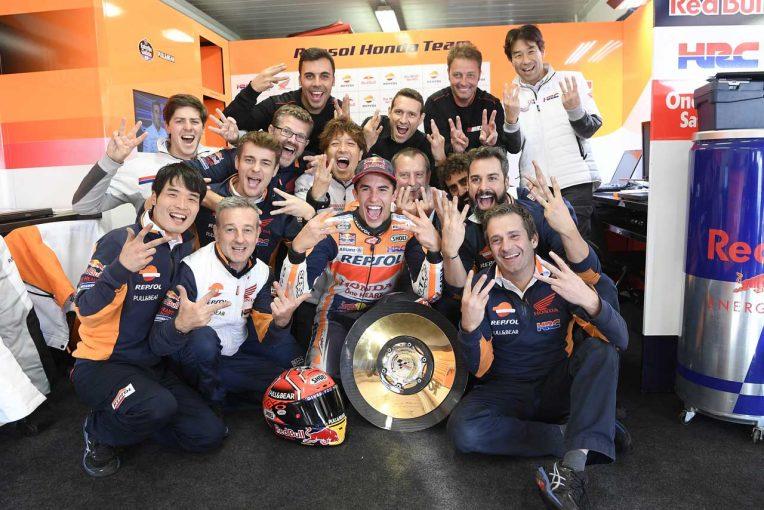 MotoGP   MotoGP:ホンダ 2017年第16戦オーストラリアGP レースレポート