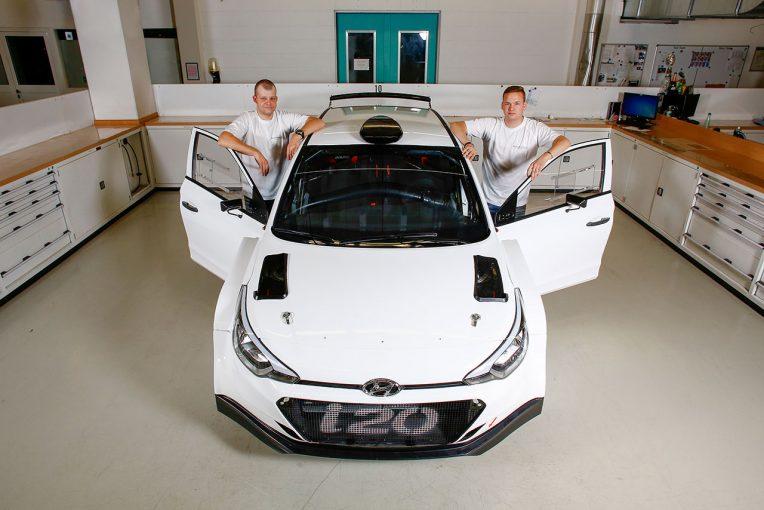 ラリー/WRC | WRC:ヒュンダイの若手育成プログラム、実質的なチーム運営はサラザン・モータースポーツが担当
