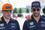 F1 | リカルド、フェルスタッペンのエンジンアップグレードをメディアから知らされ驚く