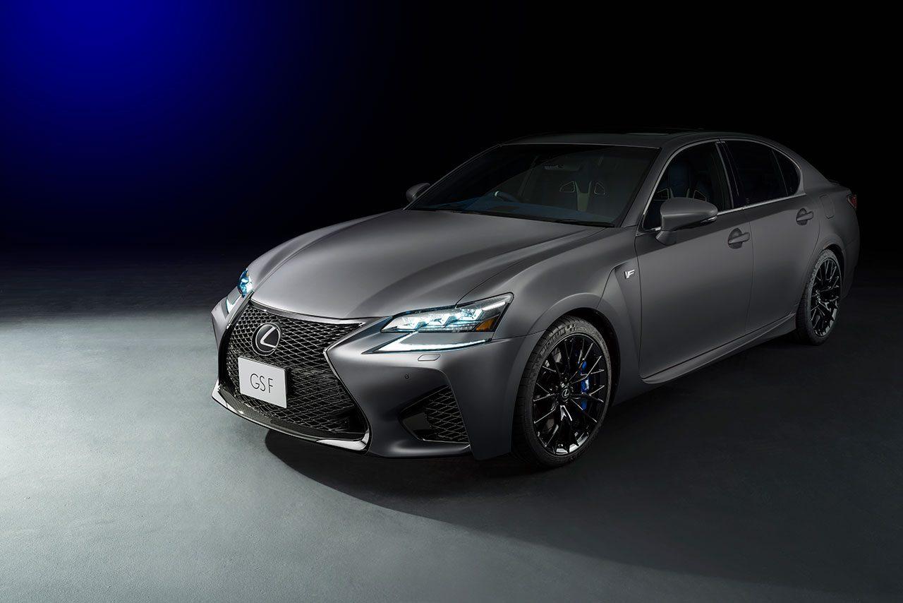 """レクサス""""F""""誕生10周年の特別仕様車を2018年春発売。自動運転提案のコンセプトモデルも発表"""