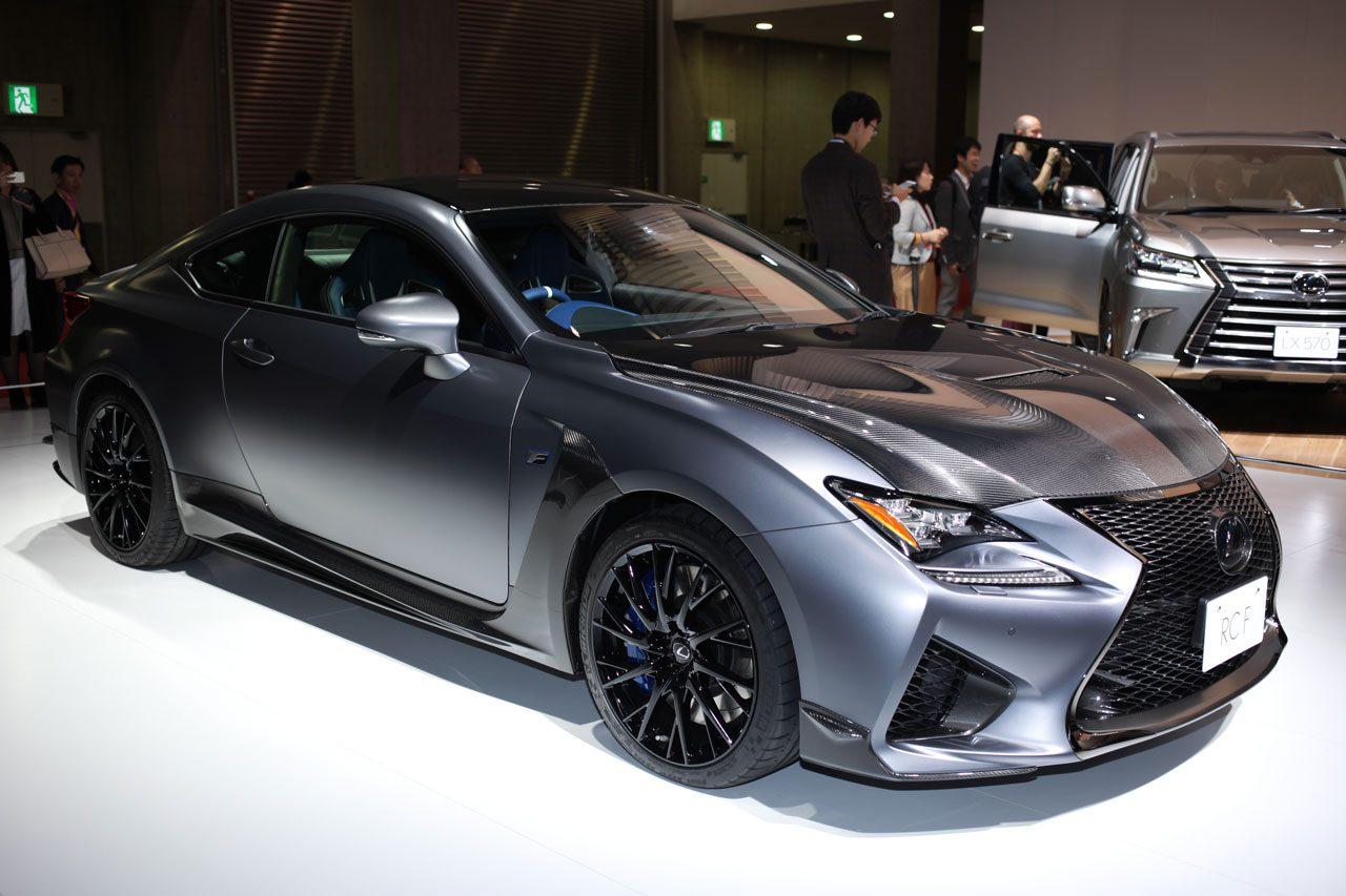 東京モーターショー2017 レクサスRC F特別仕様車