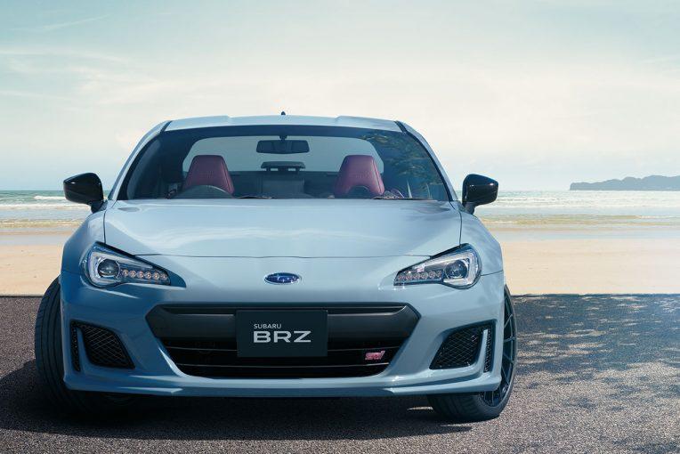 スバルとSTIが共同開発のBRZ最上級グレード『STI Sports』登場。100台限定モデルも