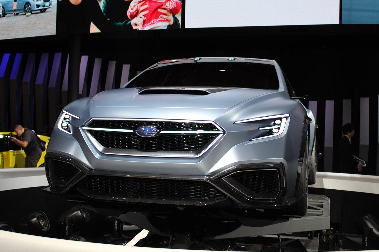 東京モーターショー2017 スバルVIZIV concept